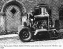 Erste Motorspritze